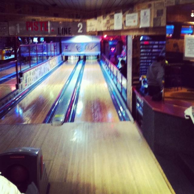 Bowling : deux pistes !